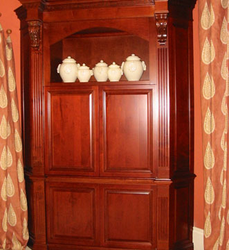 Dining Room Corner Hutch